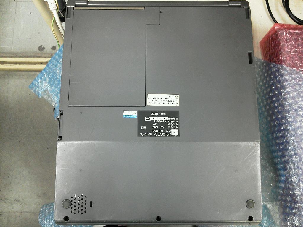 TOSHIBAJ3100GT-SXモデルの旧型PC修理の写真68