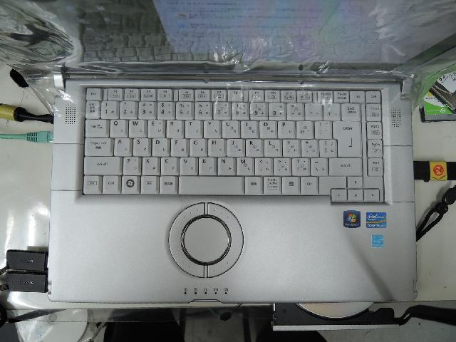 PANASONICCF-B10EWADRのSSD交換の写真78
