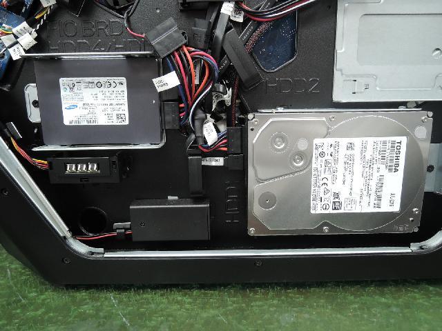 DELL ALIENWARE Area-51 R2のSSD交換 パソコン修理のPCエキスパート