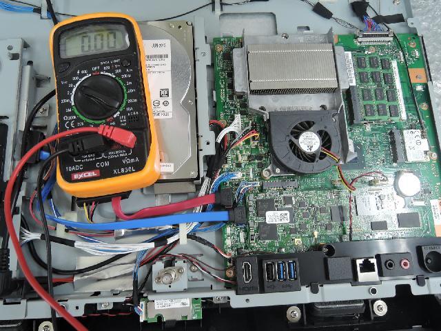 FUJITSUESPRIMO  FH 56/KD の修理の写真75