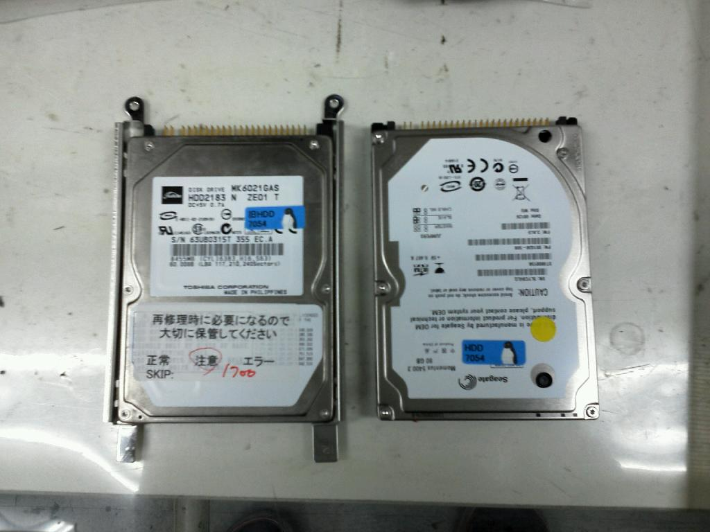 NECPC-LF7507DのHDD交換の写真75