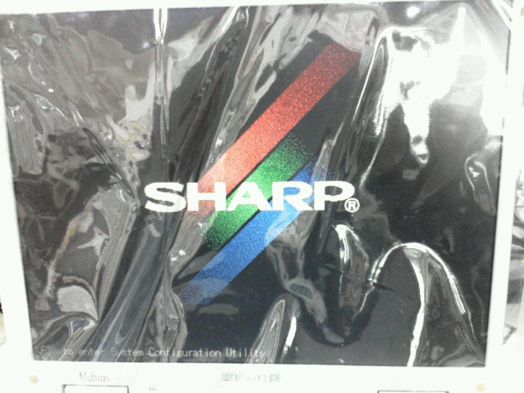 SHARPPC-MJ730のHDD交換の写真77
