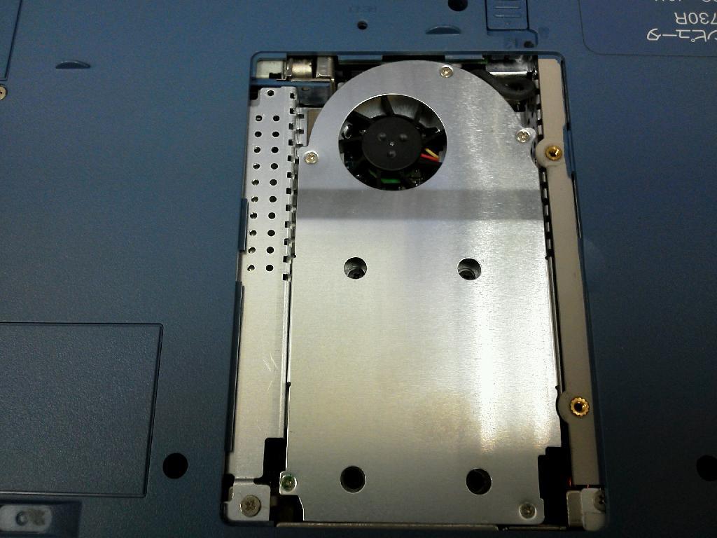 SHARPPC-MJ730のHDD交換の写真78