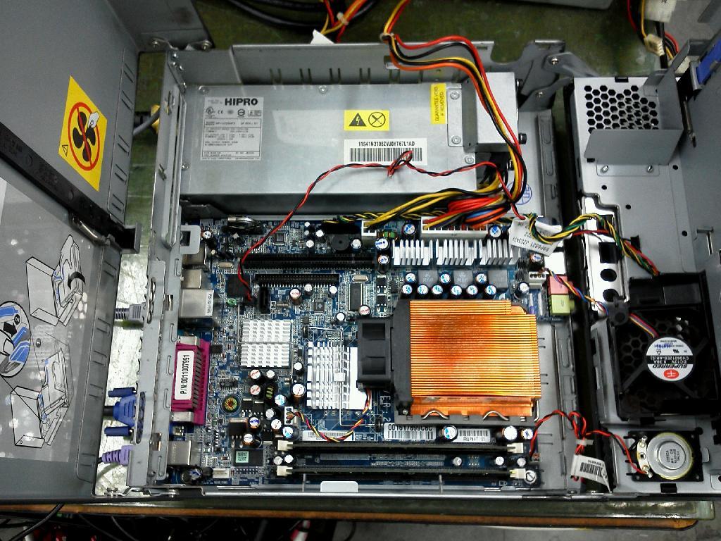 IBMThinkCentreM51の修理の写真84