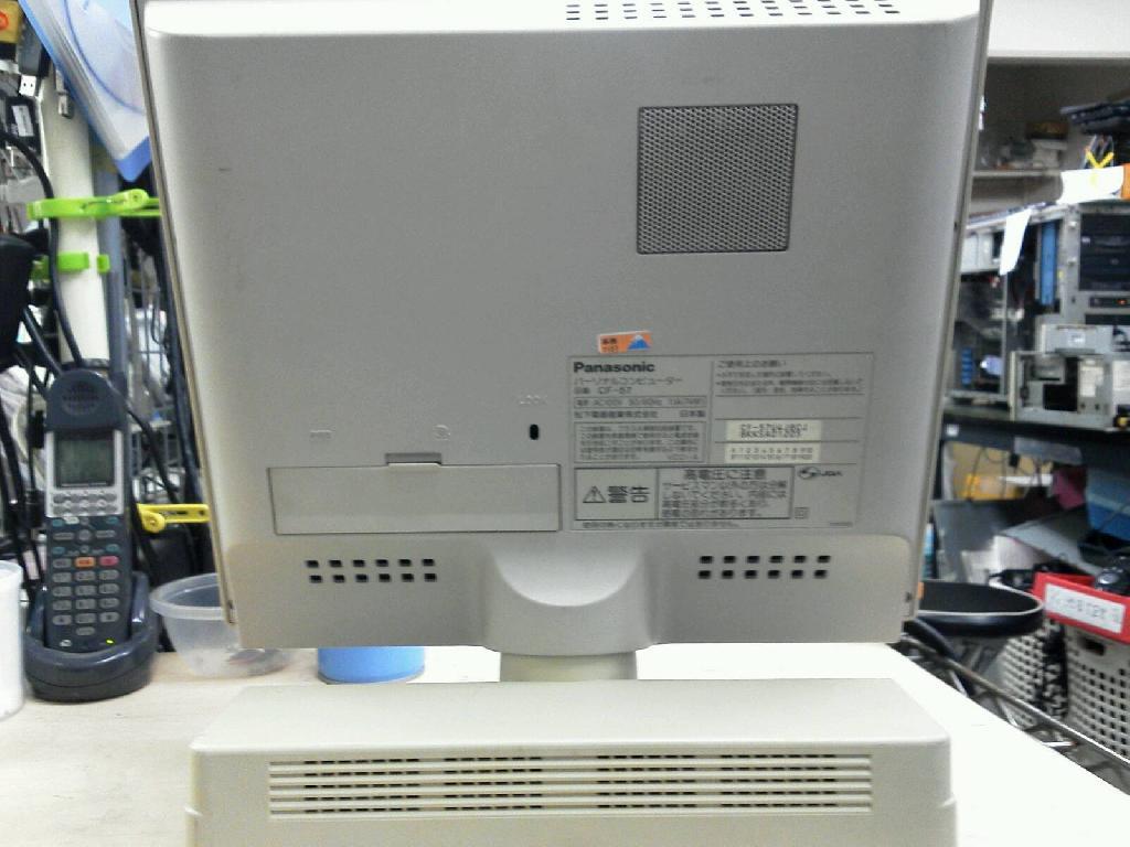 PANASONICCF-57の旧型PC修理の写真77