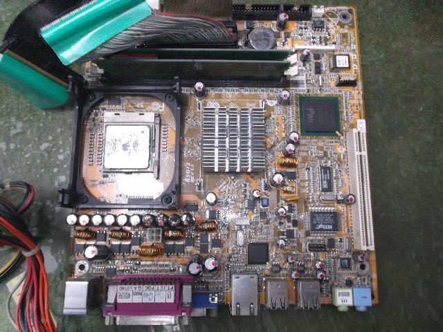 FUJITSUFMVCX610 XDA002の旧型PC修理の写真83