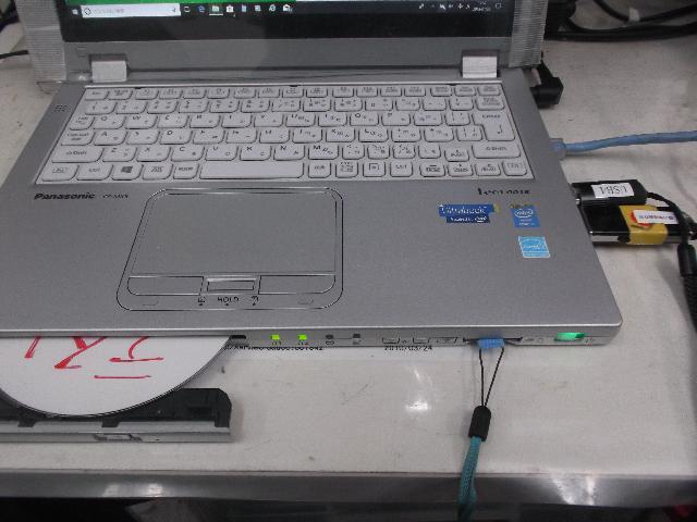 PANASONICCF-MX3の修理の写真0