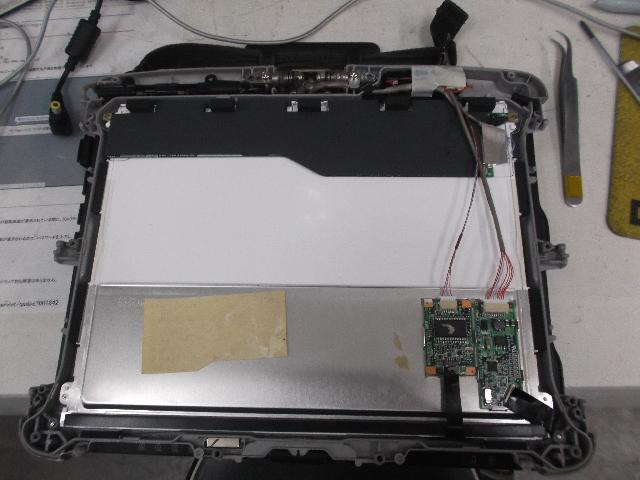 PANASONICCF-19LC1AASの修理の写真81