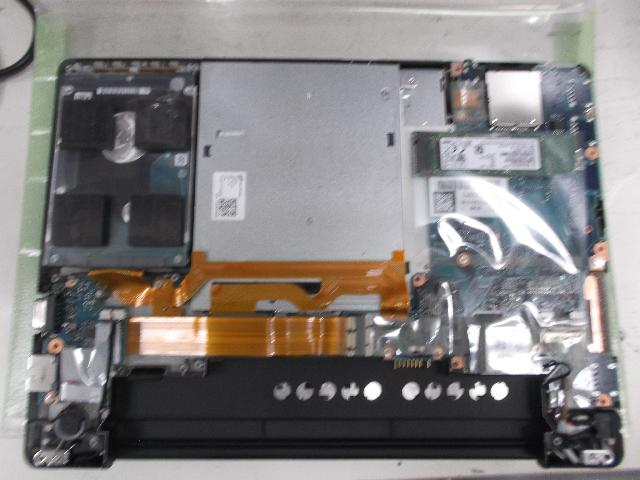 PANASONICCF-SZ6XCMQPのSSD交換の写真0
