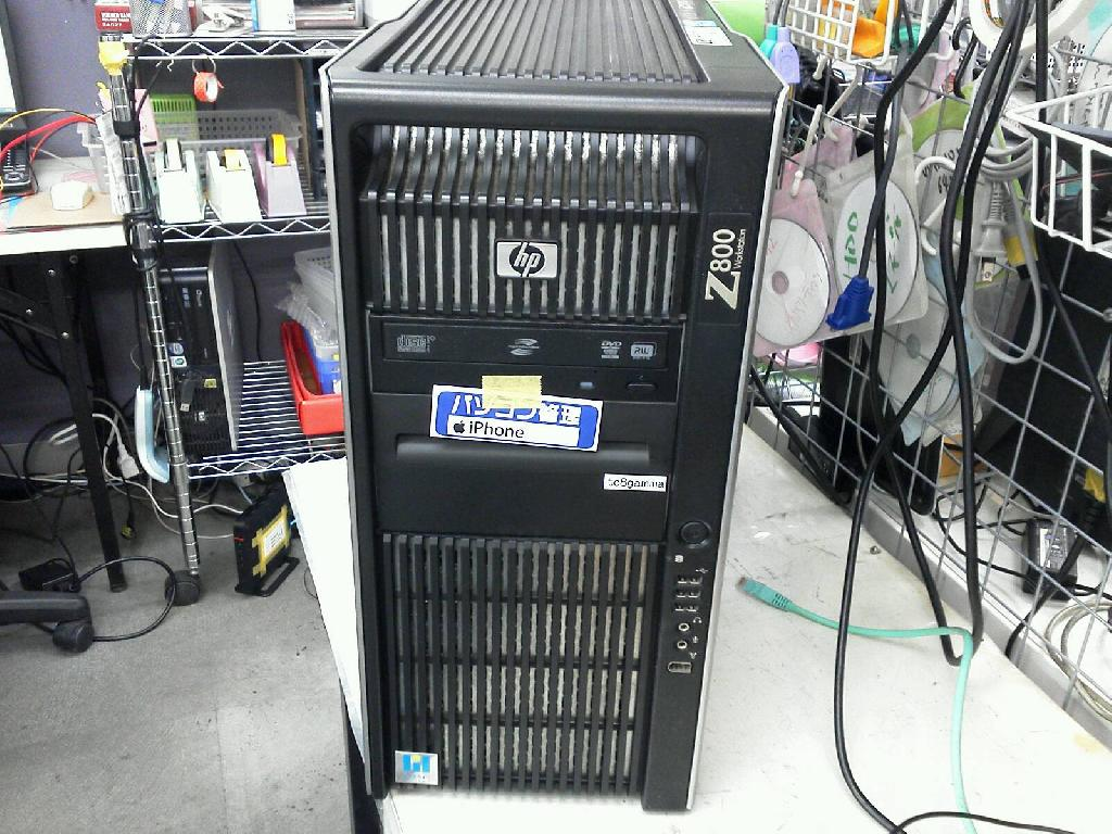 HPZ800 workstationの旧型PC修理の写真0