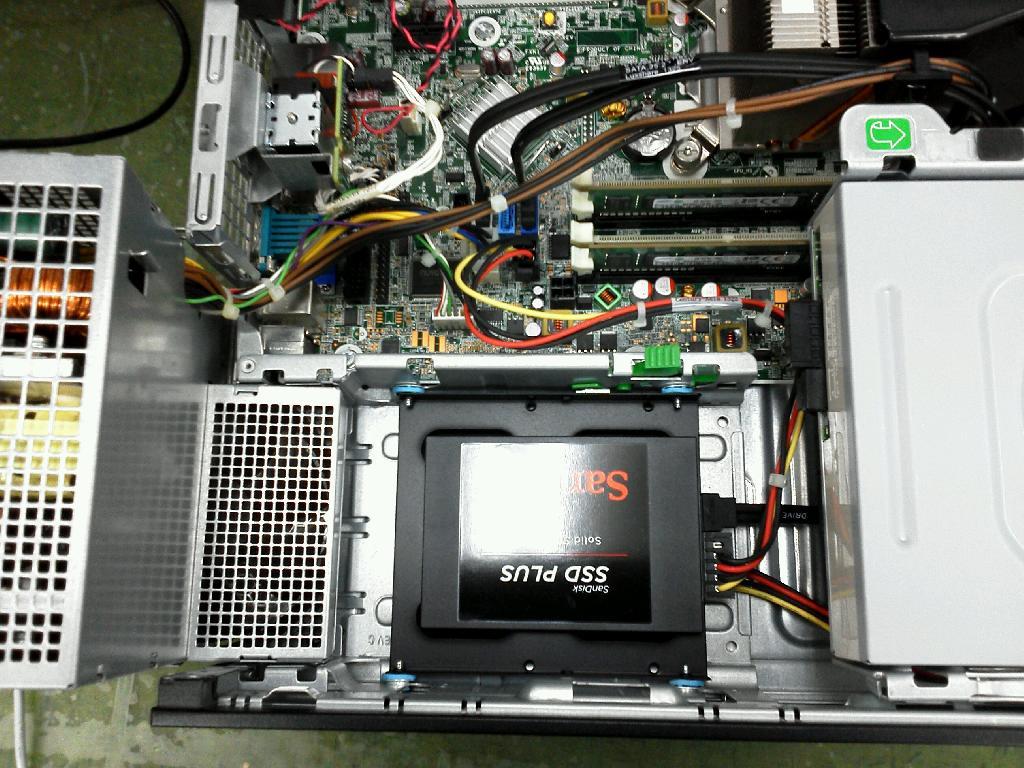 HPHPCompaqElite8300の修理の写真0