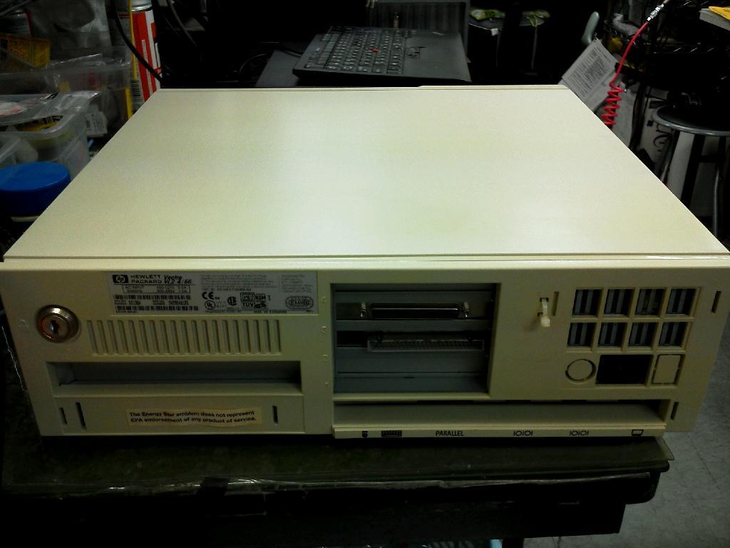 HPVectra4/66の旧型PC修理の写真83