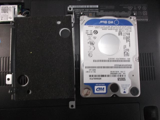 LENOVOideapad300-15IBRのSSD交換の写真0