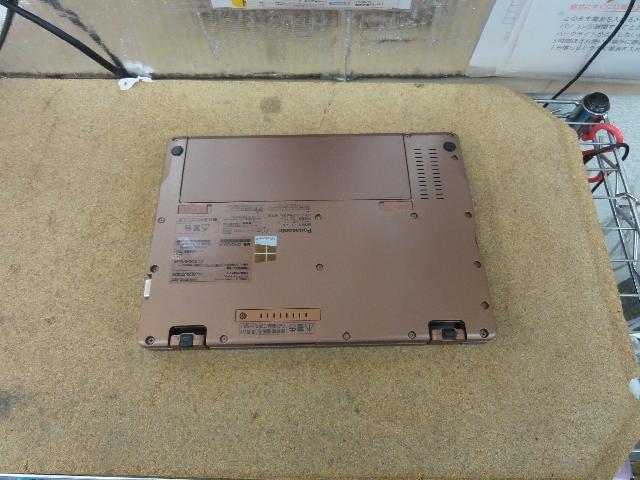 PANASONICCF-RZ4LDEJRのSSD交換の写真0