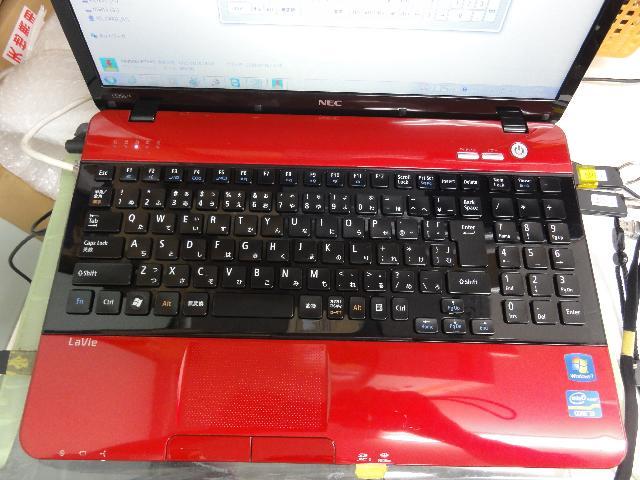 NECPC-LL750ES3ERの修理の写真0