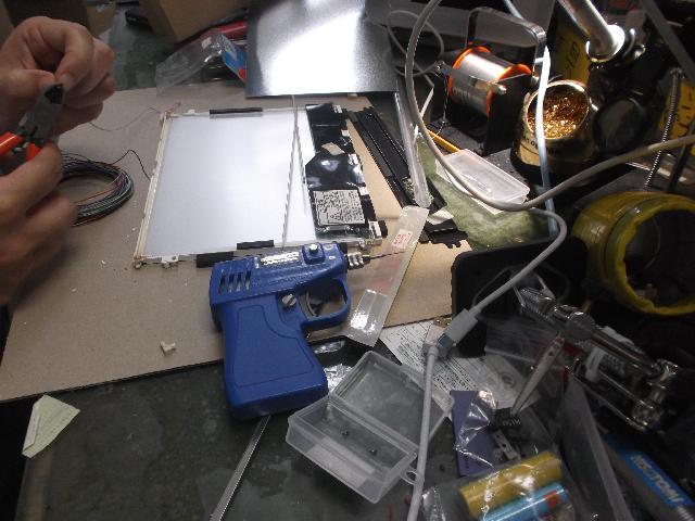 PANASONICCF-18LC1AXSの修理の写真81