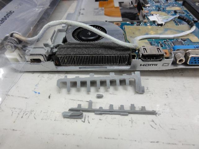 PANASONICCF-SX3JEPWRの修理の写真0