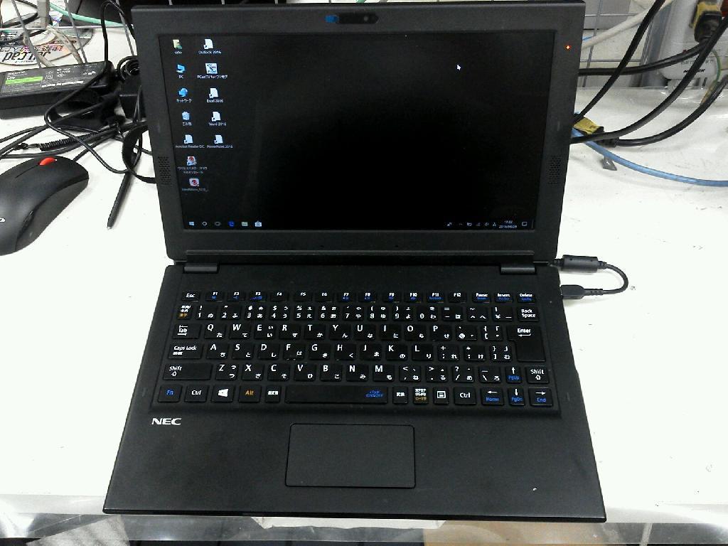 NECPC-HZ300FABの修理の写真0