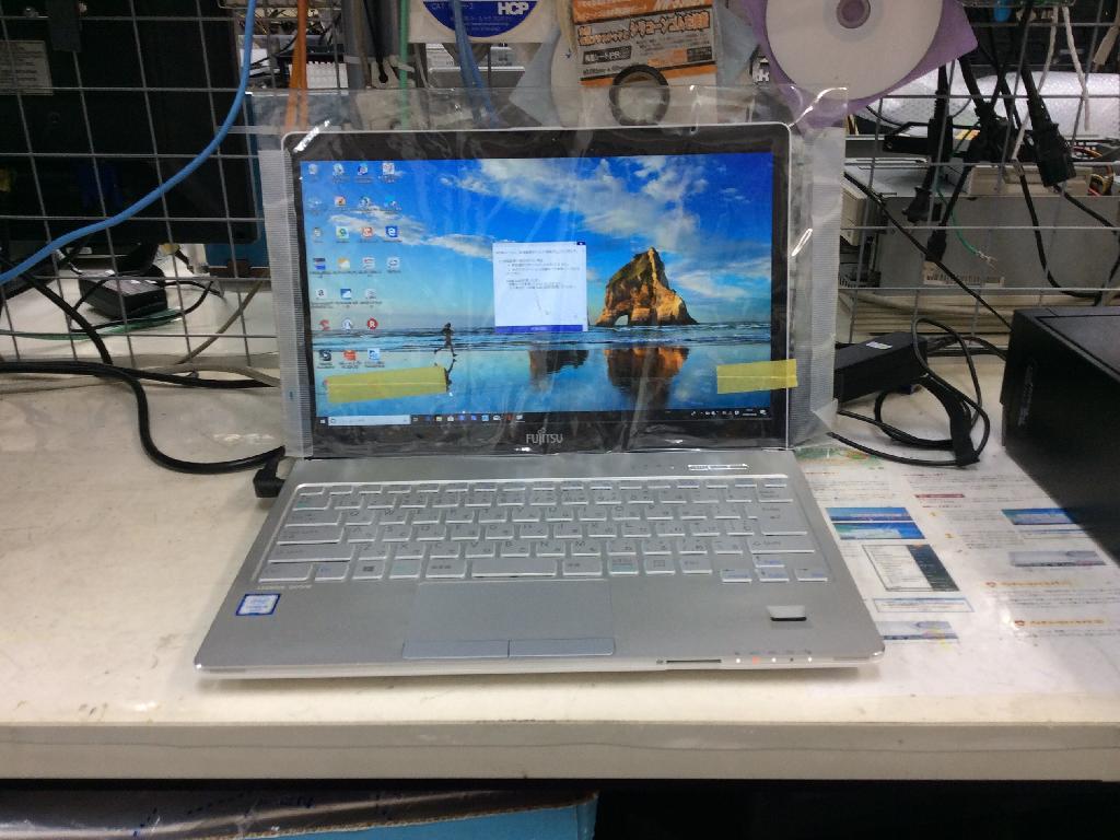 FUJITSUFMVS75WWPのSSD交換の写真0