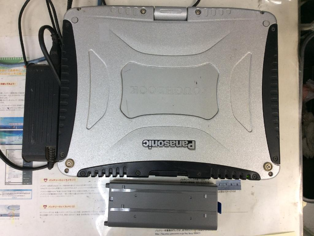 PANASONICCF-19DC1AXSの修理の写真0