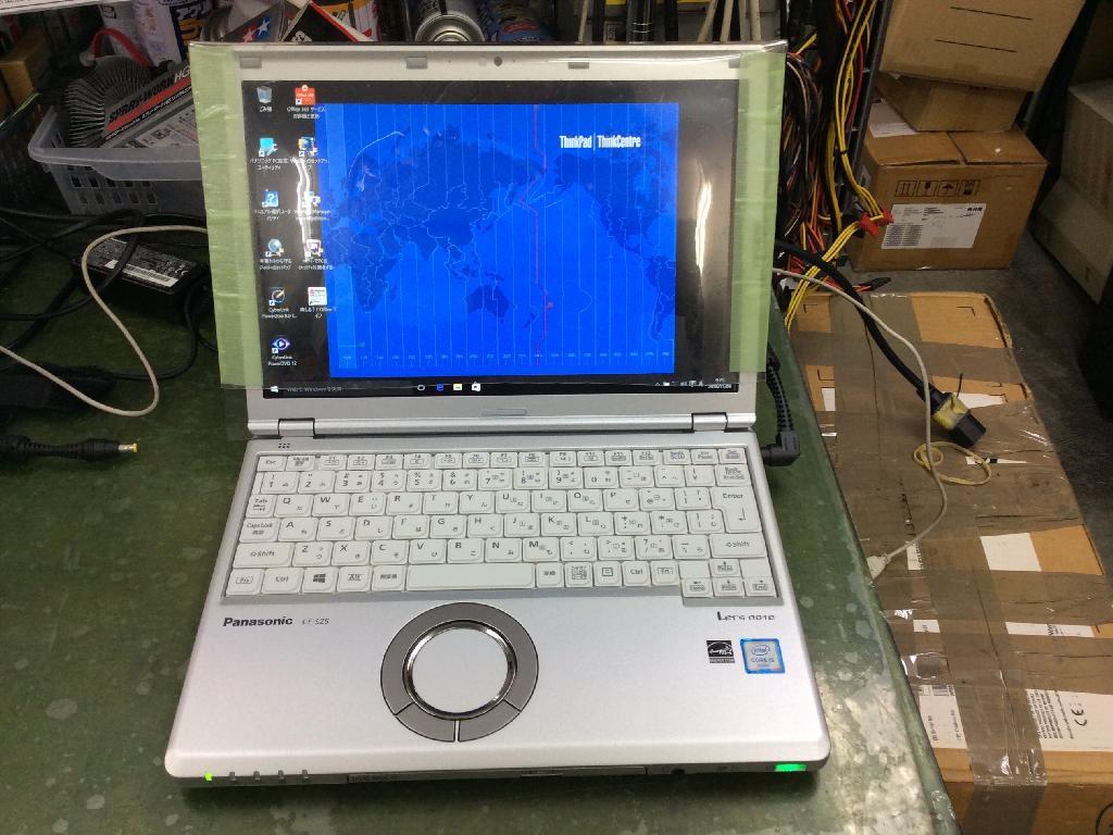 PANASONICCF-SZ5YDKPRのSSD交換の写真0