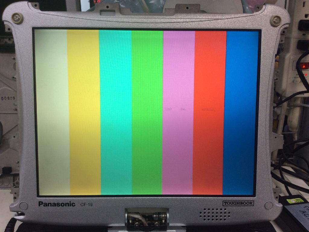 PANASONICCF-19GC1AASの修理の写真0