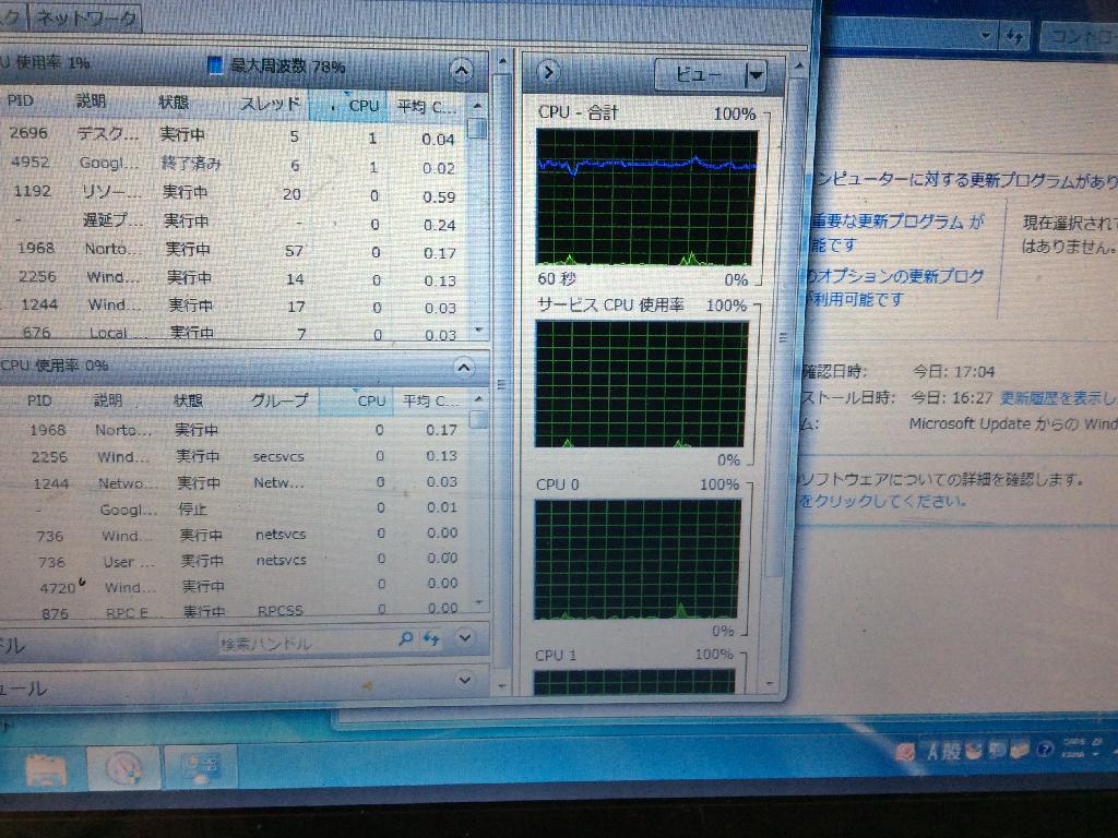 PANASONICCF-S8HYKBDPのSSD交換の写真0