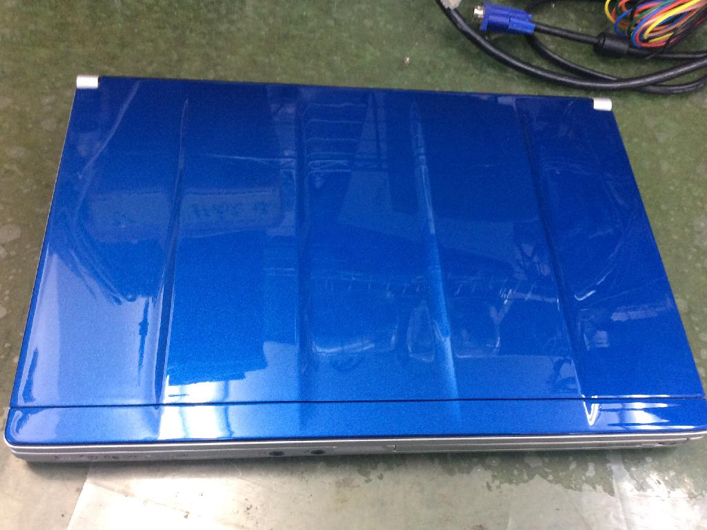 PANASONICCF-SX3SEABRの天板塗装の写真0