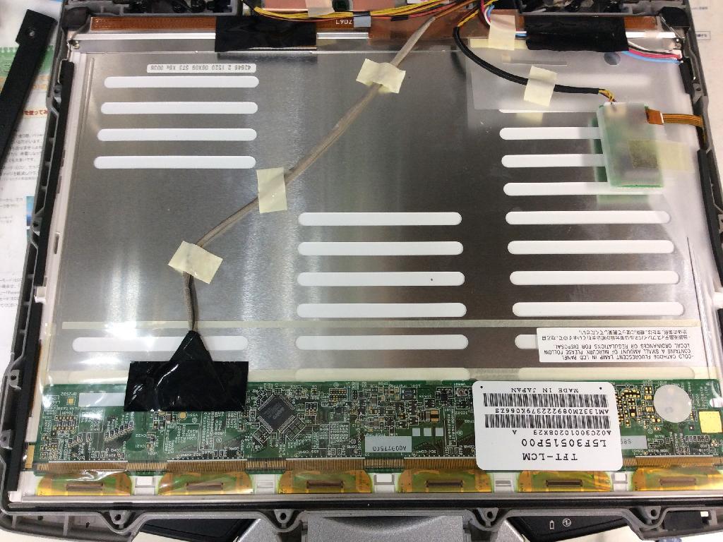 PANASONICCF-30FW1AASの修理の写真0