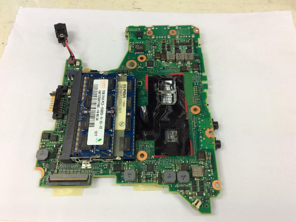 PANASONICCF-S9KYFEDRのSSD交換の写真0