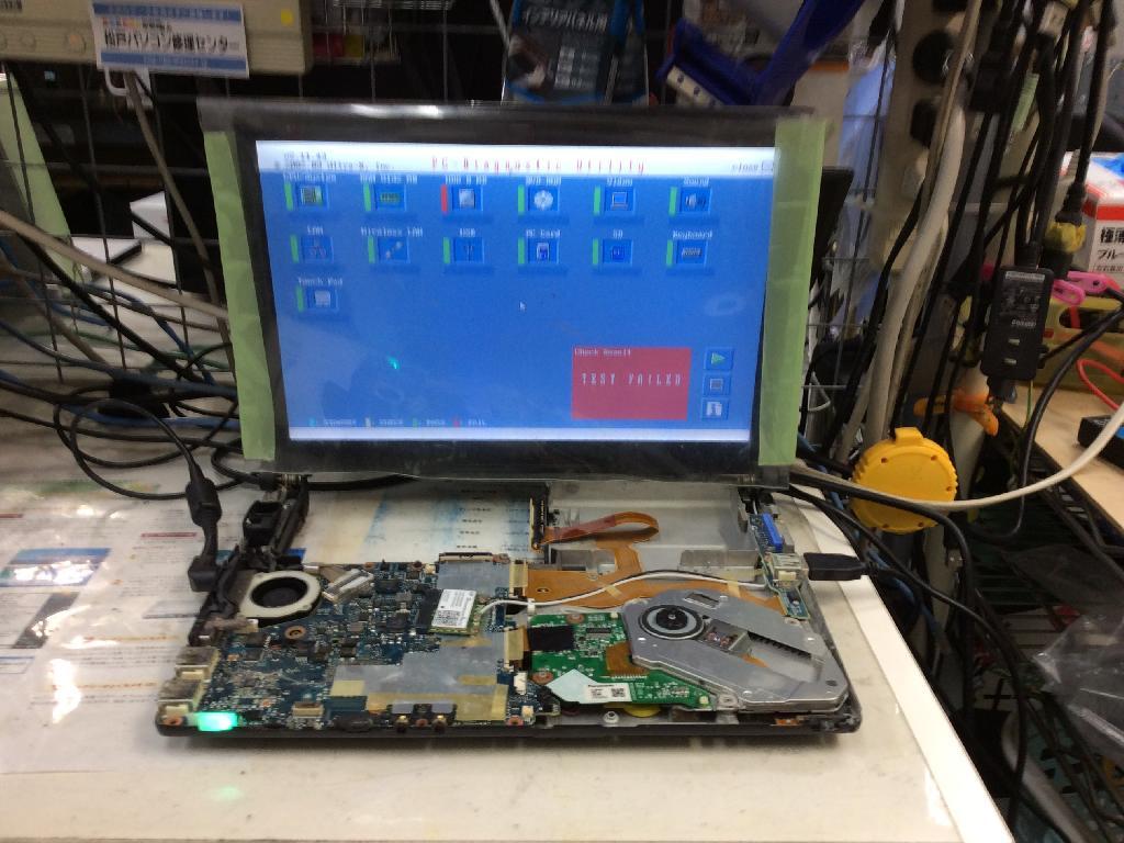 PANASONICCF-S10BEKDPのSSD交換の写真0