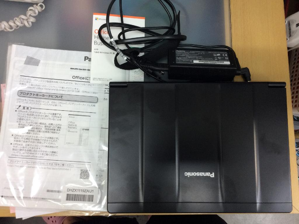 PANASONICCF-SV8DFNQRのSSD交換の写真0