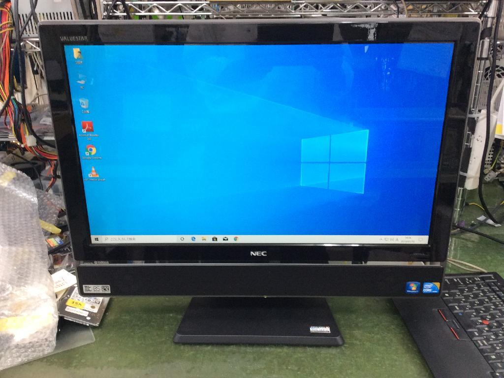 NECPC-VW770BS6BのSSD交換の写真0