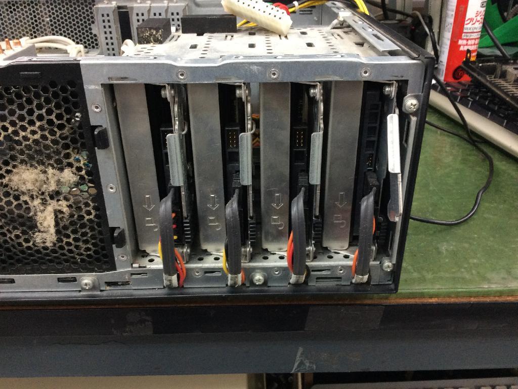 SONYVGC-RM95USの修理の写真0