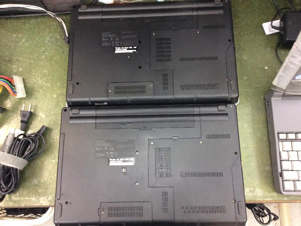 LENOVOThinkPad Edge 15 0301A37のHDD交換の写真0