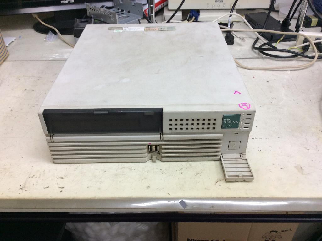 NECFC-24VESXMZSの旧型PC修理の写真0
