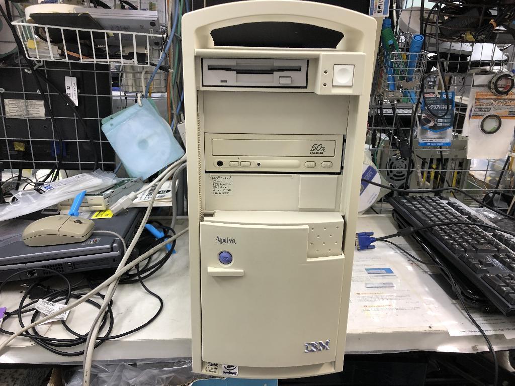 IBMAPTIVA 2161-T9Eの旧型PC修理の写真0