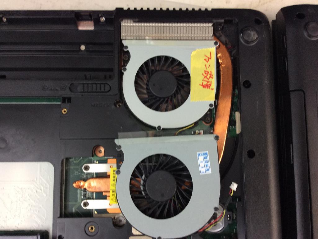 NECPC-VK27MDZFN65001831の修理の写真0