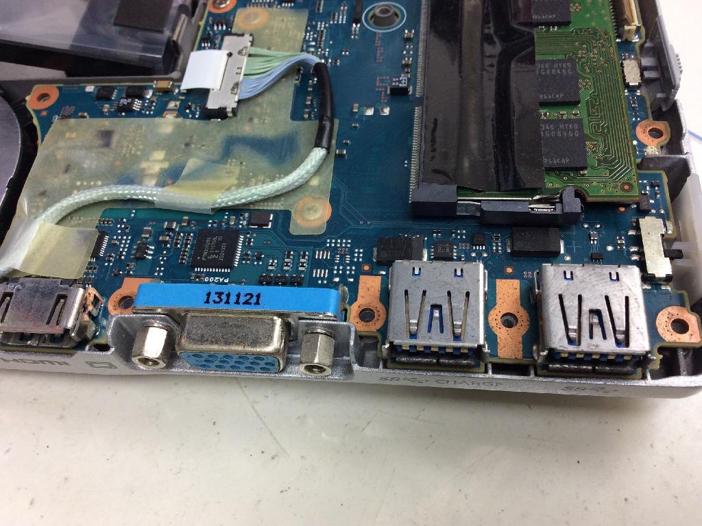 cf-sx3ydhcsの修理の写真0