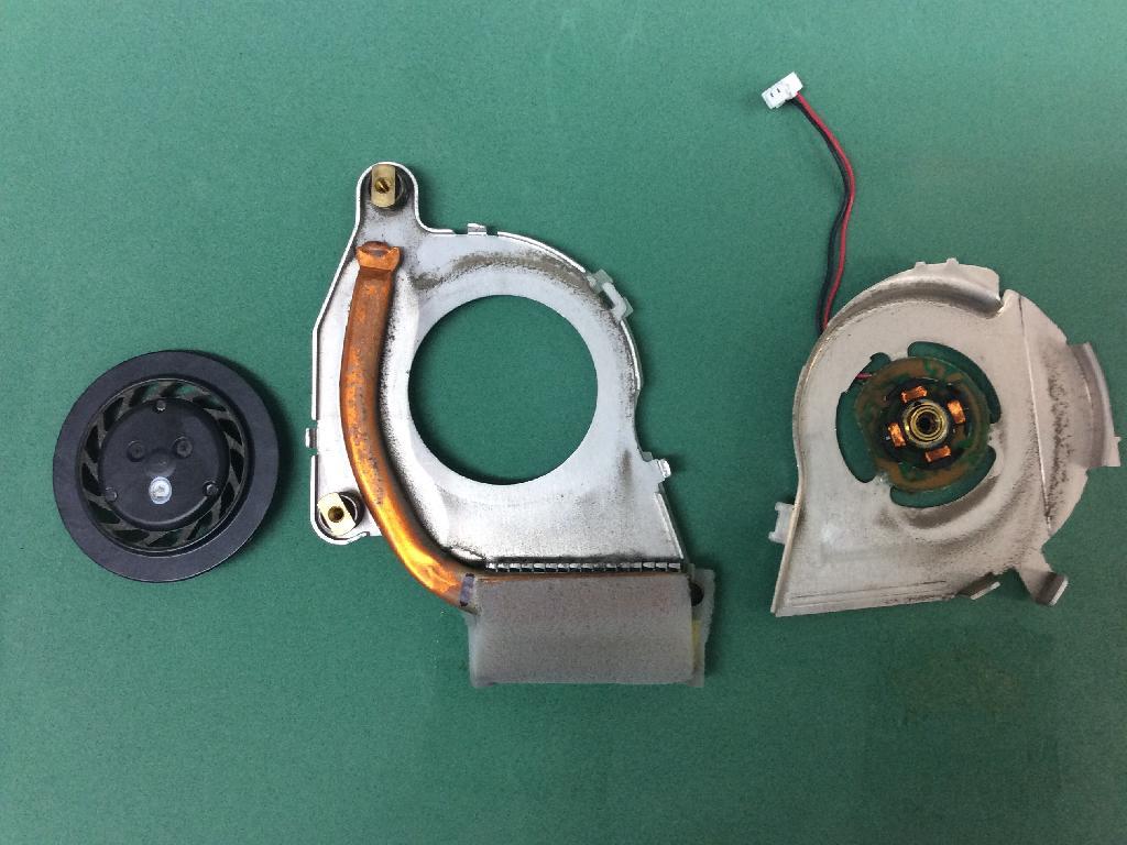 PANASONICCF-T7DW6DASの修理の写真0