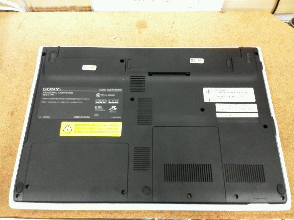 SONYSVE14AC12Nの修理の写真77