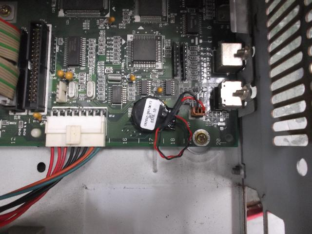 NECPC-9801BX2の旧型PC修理の写真84