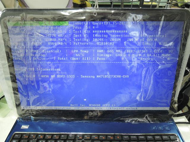 DELLINSPIRON 15R N5110の修理の写真75