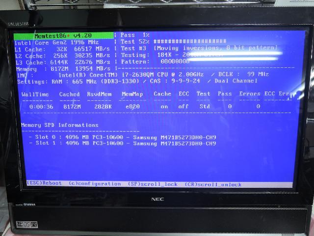 NECPC-GV207BHARのSSD交換の写真68