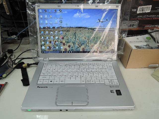PANASONICCF-LX4EDMCSのSSD交換の写真75