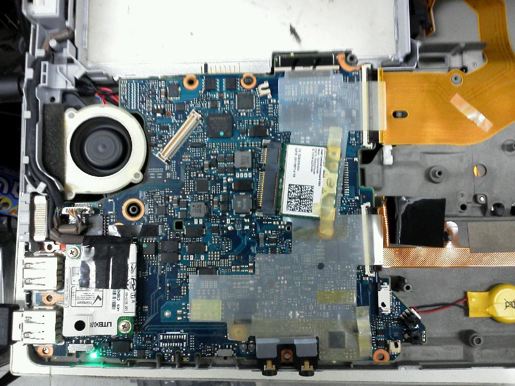 PANASONICCF-S10AYCDCの修理の写真81