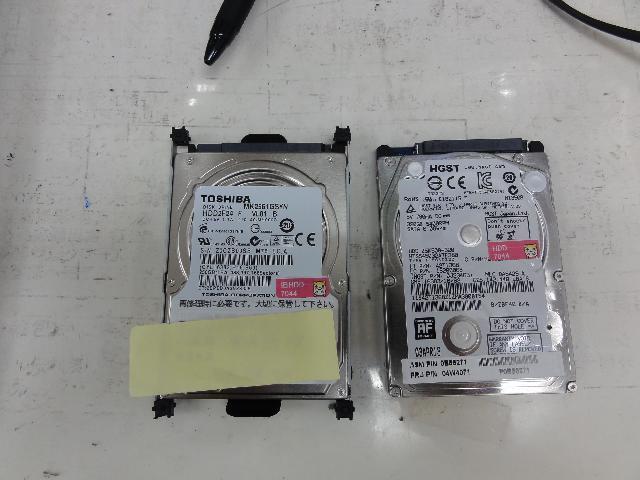 HPpavilion dv6のHDD交換の写真0
