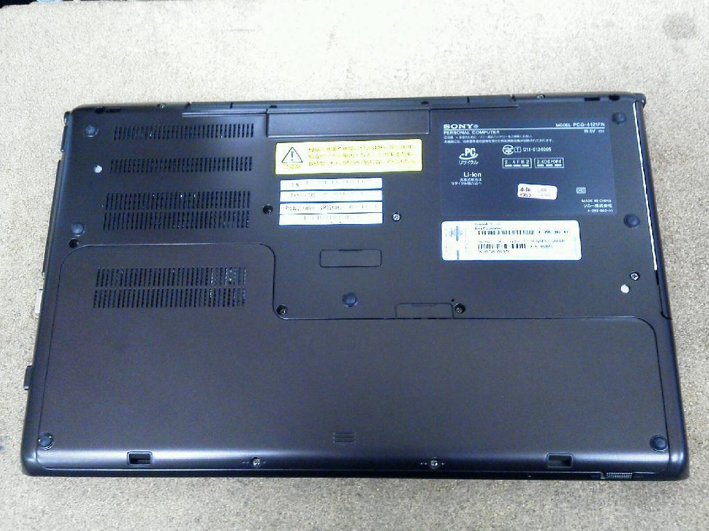SONYVPCSA3AJの修理の写真81