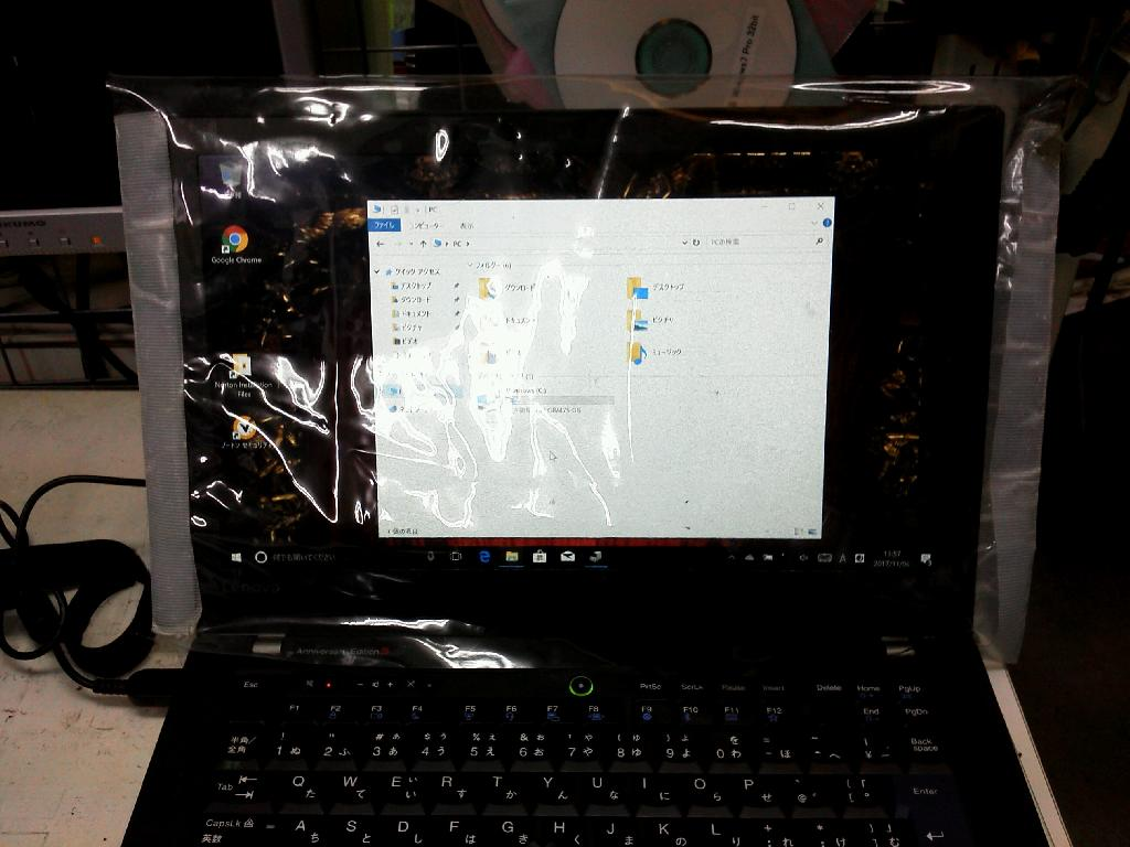 LENOVOThinkpad Anniverary のSSD交換の写真83