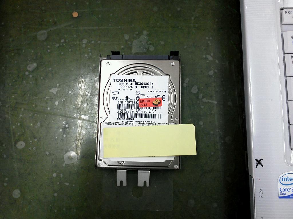 TOSHIBAdynabook TX/68FKの修理の写真0